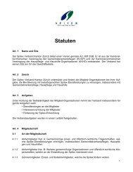 Statuten - Spitex Verband Kt. Zürich
