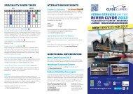 riverside ferry service - City Sightseeing Glasgow
