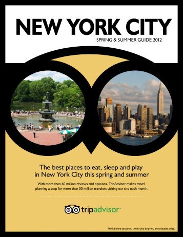 The best places to eat, sleep and play in New York City ... - Tripadvisor