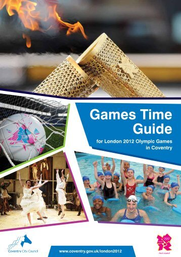 Games Time Guide (4.17 - Coventry 2012
