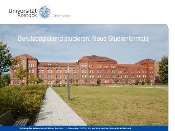 Zertifikatsprogramme - Wissenschaftliche Weiterbildung - Universität ...