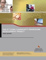 The ICT SCRM Community Framework Development project