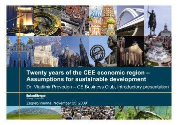 Twenty years of the CEE economic region ... - Roland Berger