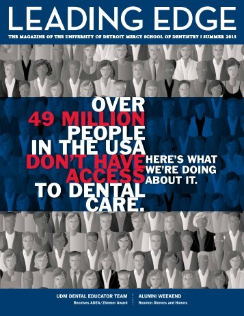 Download pdf - UDM School of Dentistry - University of Detroit Mercy