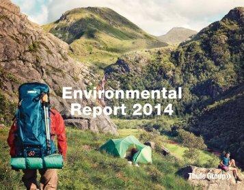 Thule-Group-Environmental-Report-2014