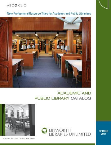 ACADEMIC AND PUBLIC LIBRARY CATALOG - ABC-Clio