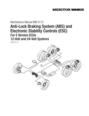 r955320 meritor wabco wiring diagram schematic diagrams rh ogmconsulting co Challenger Wiring Diagram Meritor ABS Parts