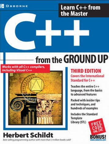 C++ From The Ground Up, 3rd Edition (2003).pdf