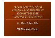 Elektrofiziológiai vizsgálatok szerepe az izombetegségek ...