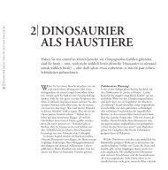 DINOSAURIER ALS HAUSTIERE 2
