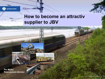 Why have a business strategy that includes JBV