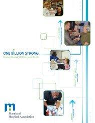 ONE BILLION STRONG - Maryland Hospital Association