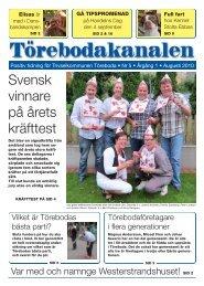 Törebodakanalen Augusti (pdf)