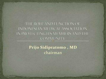 peran dan fungsi idi menurut uu praktek kedokteran - Kebijakan ...
