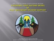 Post Secondary Student Support Program - Chiefs of Ontario