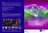 Uso do CAD em PME do Sector do Mobiliário