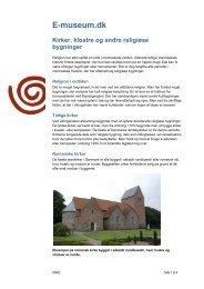 Kirker, klostre og andre... - Emu