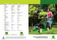 JS63V Brochure - John Deere