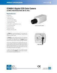 CC4620-3 Digital CCD Color Camera - Cables Plus USA