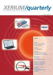 Ausgabe 6 - Dezember 2012 - Xerium Technologies, Inc.