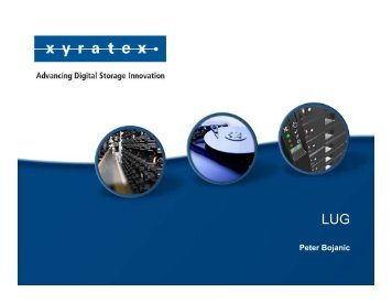 Xyratex LUG Vendor Talk-110412.pptx