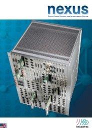 Stagetec Nexus Brochure - PDF - Aspen Madi.