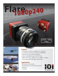 Flare 1080p240 - Total Turnkey Solutions