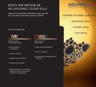 elixir informatīvais buklets - goldwell