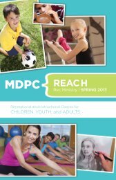 MDPC REACH - Memorial Drive Presbyterian Church