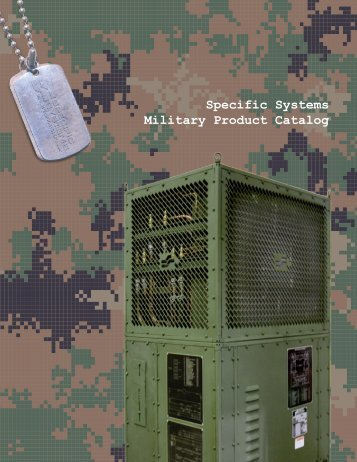 Specific Systems Military Product Catalog