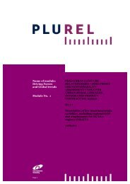 Name of module: Driving Forces and Global trends Module ... - Plurel