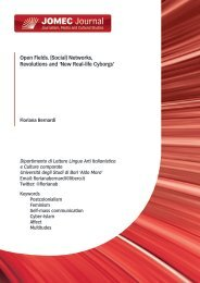 Open Fields. (Social) Networks, Revolutions and - Cardiff University