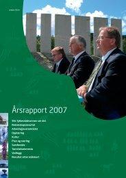 Årsrapport 2007 - Sogn og Fjordane fylkeskommune
