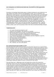 Zervixdysplasie und Zervixkarzinom: Ganzheitliche Heilungsansätze