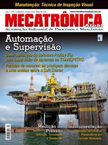 Faça aqui o download da edição n°57 - Mecatrônica Atual