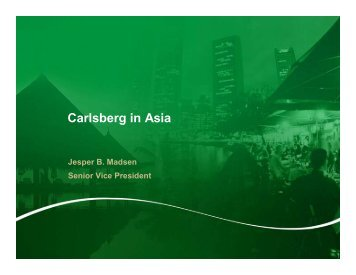 06.04.06 Carnegie in China .pdf - Carlsberg Group