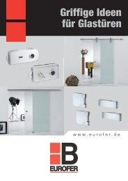 EUROBAT Glastürschloss-Serie BAROS - Klaus Baubeschläge GmbH