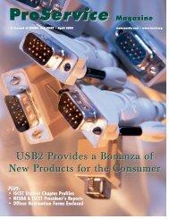 ProService Magazine - International Society of Certified Electronics ...