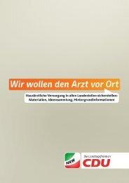 Für Informationen als PDF-Dokument bitte klicken! - CDU Lengerich