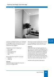Projektering / Specialvægge / Gyproc Buede vægge