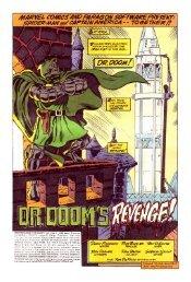 Dr Doom's revenge - Comics