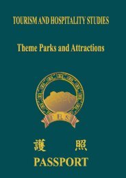 Manual on elective ii - theme parks and attractions