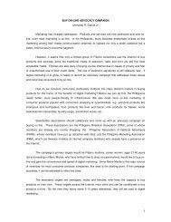 BUY ON-LINE ADVOCACY CAMPAIGN Leonardo R. Garcia Jr ...