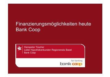 Wer ist die Bank Coop? - Schweizer Metallbau