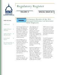 ncims 2011 - National Milk Producers Federation
