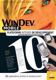 MOBILE - WINDEV et WEBDEV