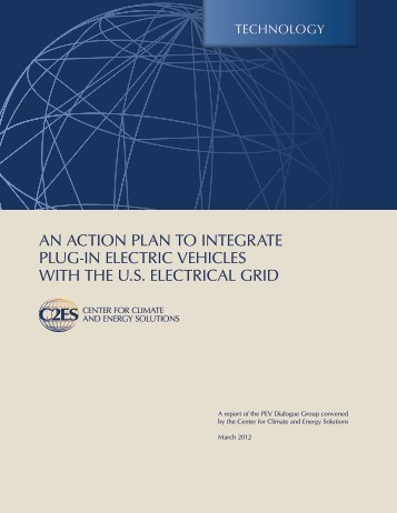 An Action Plan to Integrate Plug-in Electric Vehicles with the U.S. ...