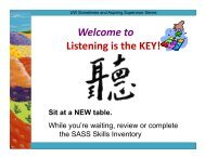 Welcome to Listening is the KEY!