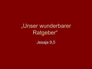 GEHT.DIR.RAT. AUS.GEH.AUFS.RATHAUS - EFG Hemsbach
