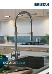 Kitchen Taps Collection 2012 - Brands of Watford